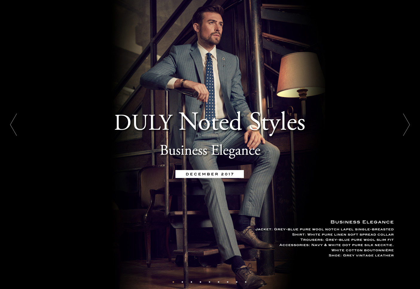 DULY Noted Styles : Business Elegance